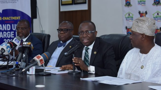 [BREAKING] Lagos govt announces reduction in land use charge