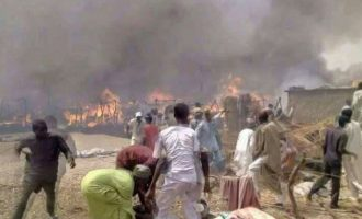 Fire outbreak kills six at Rann IDP camp