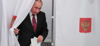 Putin wins fresh six-year term