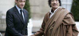 Sarkozy, ex-French president, arrested over 'funds from Gaddafi'