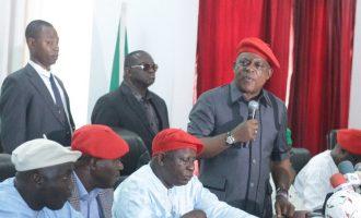 Secondus: Nigeria has collapsed in Buhari's hands