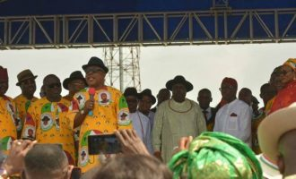 Ibori must be celebrated, says Secondus at reception in honour of ex-Delta gov