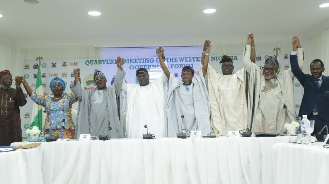 South-west governors admit Lagos into O'dua Investment Group