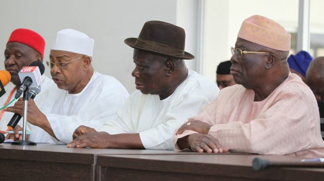 'Every Nigerian is equal' — southern leaders renew call for restructuring