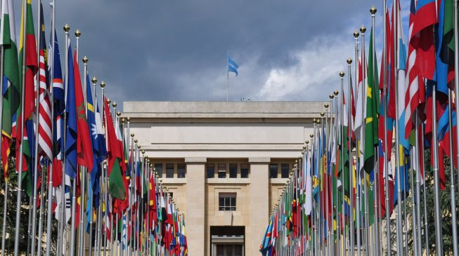 UN Geneva staff begin strike over pay cut