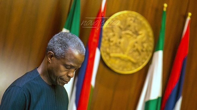 Image result for Persecution of Christians on the rise - Osinbajo
