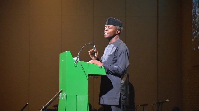 Osinbajo says all Nigerians must have access to health insurance scheme