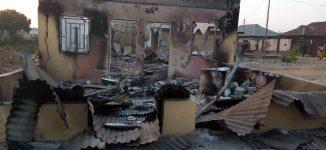 Angry youth burn church, police station in Kaduna
