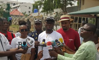 #OurMumuDonDo protesters storm INEC, demand prosecution of Mantu