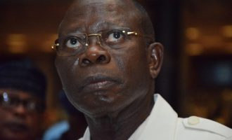 Oshiomhole to FG: Be more ruthless with looters