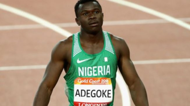Ogunlewe, Adegoke qualify for men 100m final at Gold Coast 2018