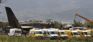 '257 killed' as Algeria military aircraft crashes