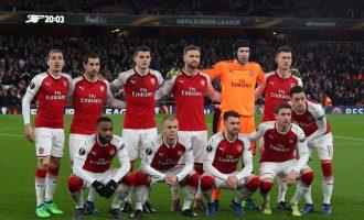 Arsenal, Atlético survive scare to advance; Lazio eliminated