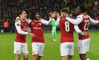 Arsenal to face Atlético Madrid in Europa League semi-final