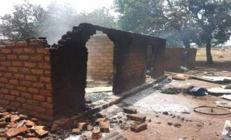 Houses burnt as aggrieved soldiers sack Benue residents