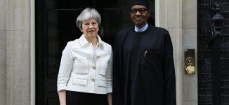 VIDEO: Buhari meets Theresa May