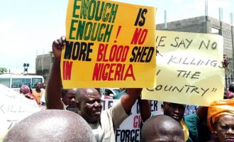 PHOTOS: Christians protest against nationwide killings