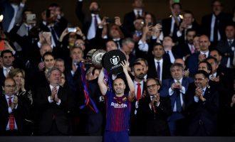 Barcelona destroy Sevilla to win Copa del Rey