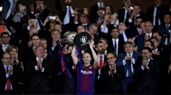 Messi second player to score in five Copa finals