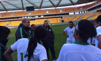 Super Falcons' huge defeat to France 'a bitter pill to swallow'