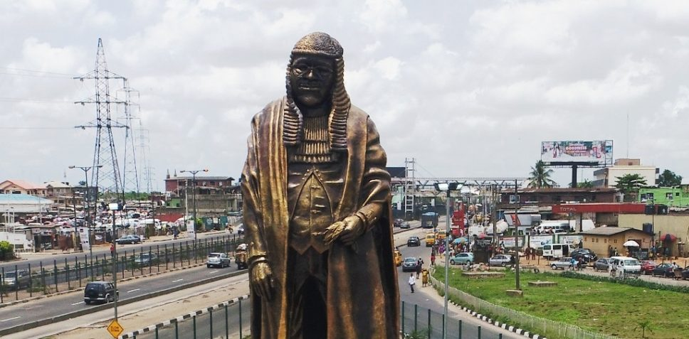 Image result for Gani Fawehinmi Statue in Lagos