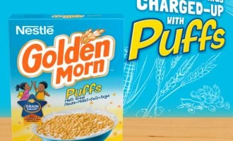 Nestlé introduces new breakfast cereal