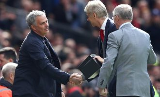 Manchester United hand farewell defeat to Wenger at Old Trafford
