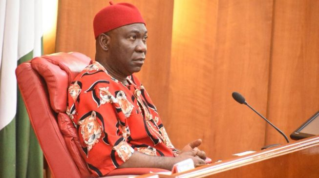 EFCC invites Ekweremadu over 'money laundering' as police lay siege to his residence