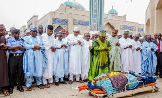 PHOTOS: Saraki, Tambuwal attend funeral of Imam Imam
