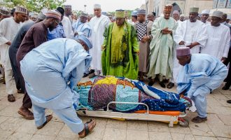 VIDEO: Imam Imam laid to rest in Abuja