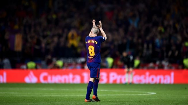 Iniesta to leave Barcelona and join Chinese Super League