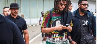 US rapper J. Cole arrives Nigeria for first-time concert