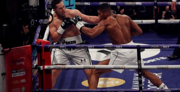 How Joshua defeated Parker — in 21 photos