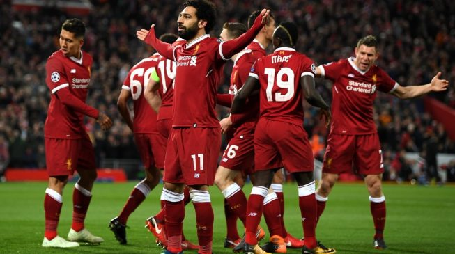 Liverpool trash City, Barcelona enjoy home comfort