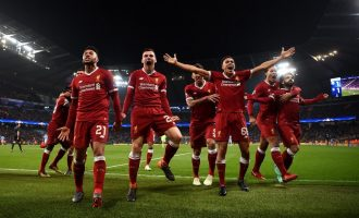 Liverpool dump City out, Roma earn fairytale win to advance