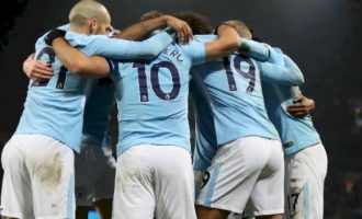 Manchester City win English Premier League