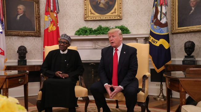 PDP: Buhari cheapened his office during woeful US outing