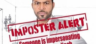 Weird! Fake Ramsey Nouah on movie sets in Nigeria while actor is in Dubai