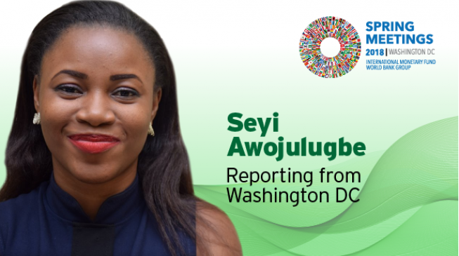Follow TheCable for live updates from the 2018 IMF/WBG Spring meetings