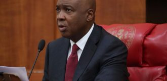 Saraki leads Nigerian senators to Russian parliament