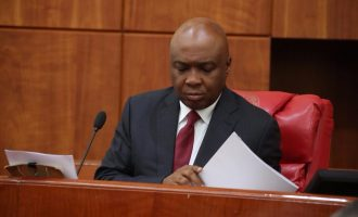 Saraki contradicts house of reps, says budget to be passed next week