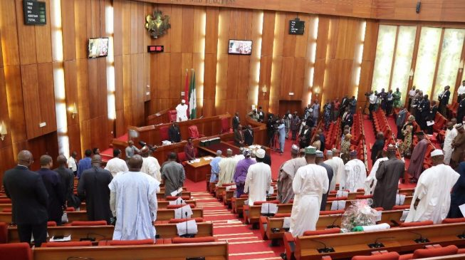 Finally senate receives 2018 budget report