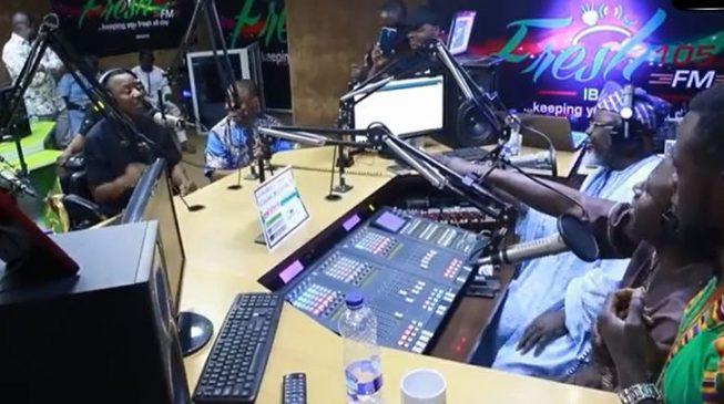 TRENDING VIDEO: Sowore, Shittu trade 'verbal blows' on live radio programme