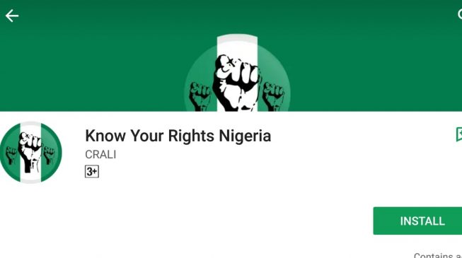This app will help you know your rights