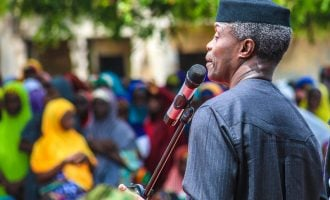 Osinbajo: Leadership loses relevance when there is no peace