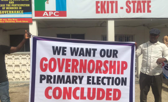 Ekiti APC primary: 27 aspirants ask NWC to conduct new election within 72 hours