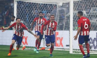 Atletico trash Real Madrid to win Super Cup