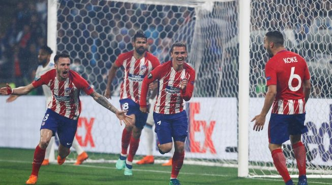 Antoine Griezmann, Atletico Madrid deliver trademark performance to seal Europa League glory