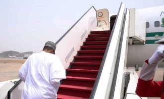 Buhari returning to London to see doctor