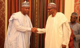 Buhari sees n'assembly invasion as an embarrassment to Nigeria, says Saraki
